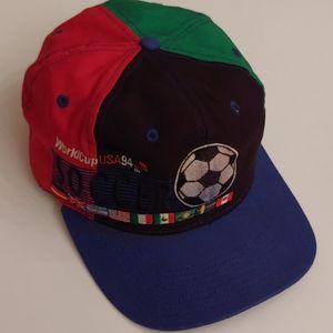 Vintage 1994 World Cup USA Snapback Cap Hat